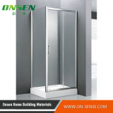 Recinto de aluminio simple de la ducha con la mejor calidad