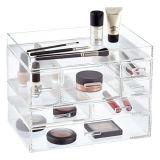 Drehender Lippenstift-Aufsatz-Halter-Organisator-kosmetischer Verfassungs-acrylsauerspeicher