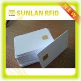 Cartão novo do PVC CI do cartão do contato do espaço em branco da tira magnética da microplaqueta de Sle4442 FM4442 FM4428