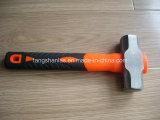 Молоток хорошего качества высокуглеродистый стальной с ручкой