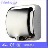 Dessiccateur automatique de main de capteur de RoHS de la CE d'air chaud d'usine colorée froide à grande vitesse d'ABS