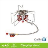 Portable potente Stove con Three Burners