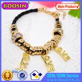 De in het groot Goud Geplateerde Armband #31416 van de Parel van het Metaal van de Ketting van de Slang