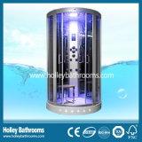 Excelente cabina de la ducha de cristal templado claro Puerta con asiento (SR117N)