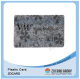 明確な透過プラスチックメンバーIDのカード