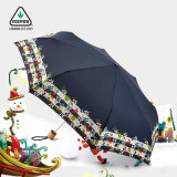 Im Freienfarben falten kleinen Pocket Sonnenschirm-Regenschirm Sy013