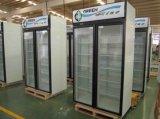 Tür-aufrechte Glastür-Kühlvorrichtungen des Fachmann-zwei hergestellt in China