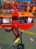 Élévateur à chaînes électrique des élans 0.5t avec le chariot manuel