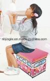 Tamborete encantador do armazenamento da série do projeto do barramento dos miúdos Gsa7025-1 para brinquedos