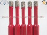 Буровой наконечник паяемый вакуумом для Grantie керамического