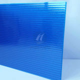 Bereifter Blue Polycarbonate PC Hollow Sheet durch Bayer Material