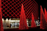 LEDの休日の屋外の装飾のカーテンライトクリスマスの照明