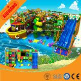 Спортивная площадка мягкой игры океана проложенная темой крытая для детей