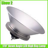 120 와트 LED 높은 만 램프 정착물을 점화하는 공장