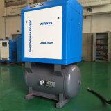 Compresor de aire rotatorio del tornillo de la refrigeración por agua de 132 kilovatios