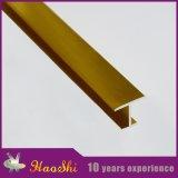 Le marbre en aluminium de forme de H couvre de tuiles les matériaux de construction décoratifs (HSH-01)