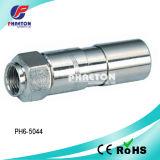Rg11 압축 RF F 동축 케이블 연결관 (pH6-5044)