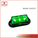 piattaforma Light (SL623-S Green) di 3W Waterproof LED Warning