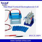 実験室DNAの分析の工場価格の縦の電気泳動の器具
