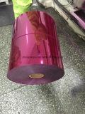 Pellicola del PVC colore dell'imballaggio sotto vuoto/della bolla