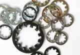 Пружинная шайба крепежной детали DIN6797j нержавеющей стали с ISO