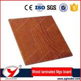 Tablero de madera del grano del cemento incombustible de la fibra de la pared interior y exterior