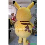 Traje de la mascota de Pikachu de la fuente