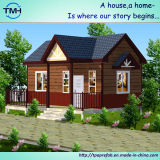 Chambre en acier préfabriquée de villa d'installation rapide pour l'accommodation