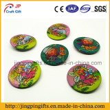 Promocional Gift Flashing 3D Smile Lapel Pin de Button Badge