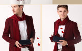 2016명 최고 판매 단순한 설계 고품질 애인 진짜 가죽 지갑