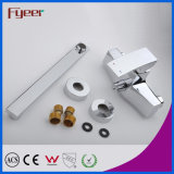 Fyeer Long Spout Bathroom Bath e Shower Mixer Faucet (QR1001D)
