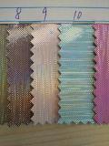 Caldo-Vendendo il cuoio di scintillio della scintilla per il materiale della mobilia della mascherina di calzature (HS-G1)