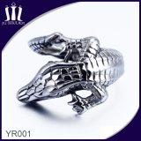 anillo de acero Titanium del Mens del Gecko 316L
