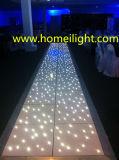 가장 새로운 방수 아크릴 별 춤 결혼식 빛을%s 반짝이는 LED 별빛 댄스 플로워