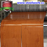 Prepainted PPGI лист деревянной картины зерна стальной (CC-15)