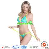 Frauenreizvoller Halter-Bikini/reizvoller Dreieck-Bikini