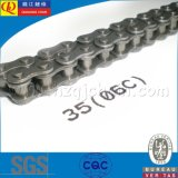 06c High Quality Short Pitch Carben Steel Transmission Roller Chain