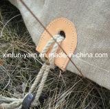 Gesponnenes Polyester-Baumwollleinensegeltuch-Gewebe für Beutel/Zelt/Beutel/Schuhe