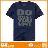 T-shirt seco de Runnung dos esportes das mulheres
