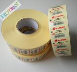 Kundenspezifische Papierdrucken-verpackenkennsätze