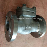150lb/300lb/600lb/1500lb forjó la válvula de verificación del extremo del borde del acero inoxidable