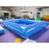 Associação de água inflável de encerado inflável do PVC da natação Pools/0.9mm do tamanho de família