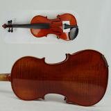 Intagliato Spruce Handcrafted tutto il violino avanzato solido
