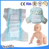 良質の布は柔らかく使い捨て可能な赤ん坊のおむつ/赤ん坊項目を好む