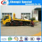 carro de remolque del camión de auxilio de la plataforma de 5ton Isuzu para la venta