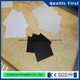 جامدة ورقة واضحة PVC البلاستيكية للطباعة وبالحرارة