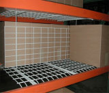 Decking durevole galvanizzato commercio all'ingrosso della rete metallica per la cremagliera di memoria del magazzino