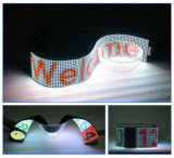 Visualización de LED flexible a todo color P7.62 de interior para la publicidad del almacén