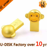 2016 movimentação dourada nova do flash do metal USB2.0/3.0 do macaco (YT-M3.0L)