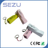 la Banca di 2600mAh Promotional Gift New Twist Perfume Power con Keychain